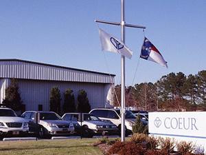 Coeur location in North Carolina.